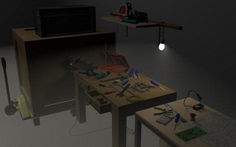 Nicolas Lebrun, Atelier, Workshop