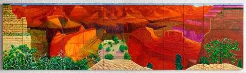 David Hockney, A closer Grand Canyon, 1988 © David Hockney_photo Richard Schmidt_1