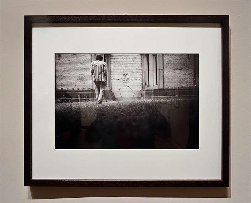 Denis Roche, 11 juin 1985, Cologne, Allemagne, Autoportrait - Photolalies, 1964-2010. Pavillon Populaire, Montpellier