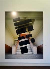 Georges Rousse, Chambery 1,2008 - « Collectionneur d'espaces » à Campredon