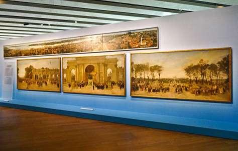 J'aime les panoramas (Le dispositif panoramique), Vue de l'exposition au MuCEM, 2015