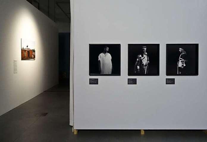 Traces… Fragments d'une Tunisie contemporaine - Vue de l'exposition au MuCEM