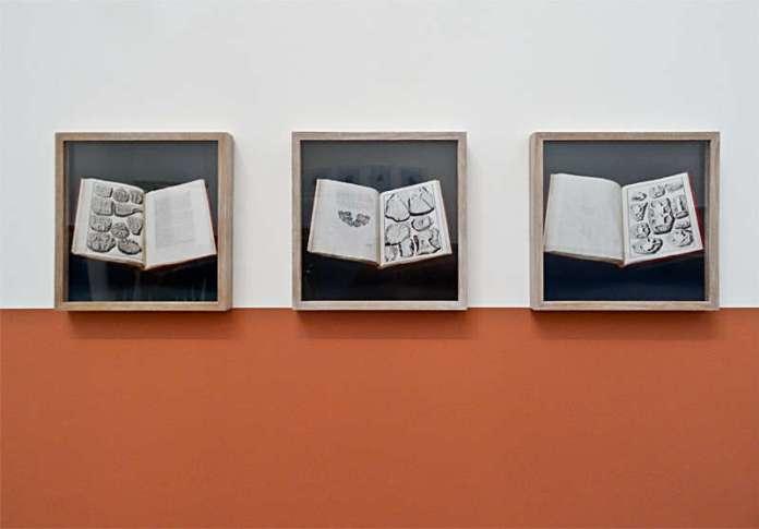 Yto Barrada, Sans titre (série Berringer's Lying Stones), 2013- 2015, tirages chromogène,« Faux guide », Carré d'Art - 2015-2016