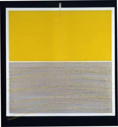 Jesús Rafael Soto, Vibration Jaune, 1965