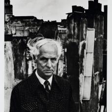 Denise Colomb, Max Ernst, 1954, épreuve argentique, Coll. Musée Réattu-Arles, Don de l'artiste, 1993 © DR