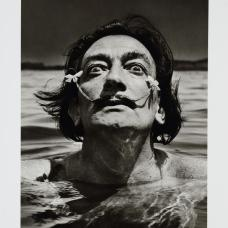 Jean Dieuzaide, Dali dans l'eau, 1953, épreuve argentique, Coll. Musée Réattu-Arles, Dépôt des rencontres d'Arles, 2002 © Photographie Jean Dieuzaide