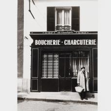 Beaumont Newhall, Paul Strand shopping, 1968, épreuve argentique, Coll. Musée Réattu-Arles, Dépôt des Rencontres, 2002 © DR