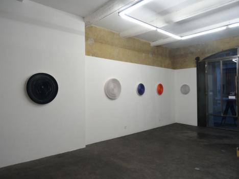 Patrice Barthès, Size of the Distance, 2015 - Lieu Multiple, vue de l'exposition
