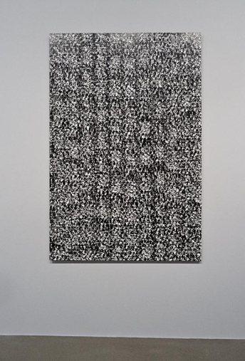 Christopher Wool, Sans titre, 1987 - Très traits à la Fondation Vincent Van Gogh Arles