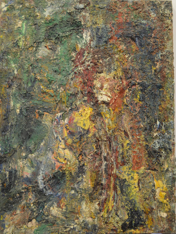 Eugène Leroy, Grand homme jaune, 1989 - Exposition Très traits à la Fondation Vincent Van Gogh Arles