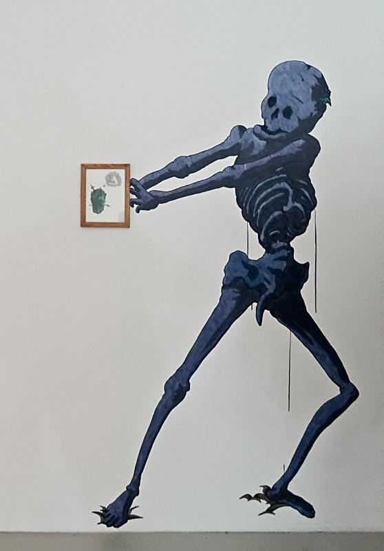 Jimmy Richer, Tributaire de l'idéogramme, 2015 et Creation In Situ - Musée Fabre Montpellier