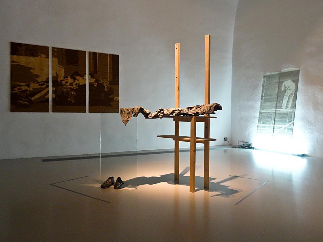 Katia Morel, Befter #2, 2013, Mind the gap, 2014, Pause déjeuner, 2014 - Musée Fabre, Montpellier