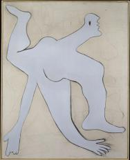 Pablo Picasso, L'acrobate bleu, novembre 1929 Fusain, huile sur toile 162 x 130 cm / AM 1990-15 Centre Pompidou MNAM-CCI, Paris, dépôt du musée Picasso Paris / Photo © Centre Pompidou, MNAM-CCI, Dist. RMN-Grand Palais / Philippe Migeat © Succession Picasso 2016