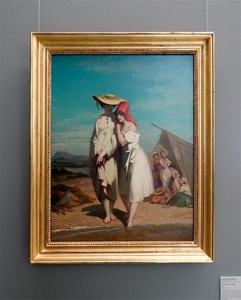Auguste Glaize, Deux baigneuses à Palavas , 1749 - Musée Fabre Nouvelles Acquisitions