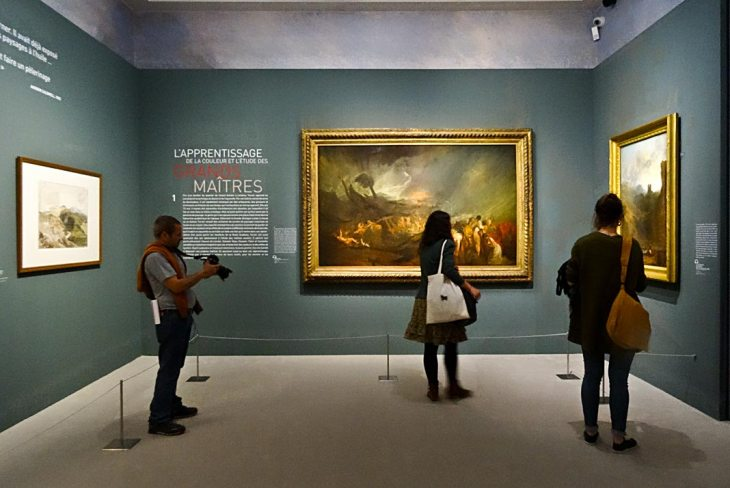 Turner et la couleur à l'Hôtel de Caumont – Aix-en-Provence - Salle 1 - L'apprentissage de la couleur