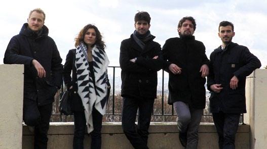 FAV 2016 - Belle Ville Atelier d'Architecture - Ilan Bitoun, Vincent Imfeld, Alexandre Ferron, Anthony Le Page et Lucile Nicosia