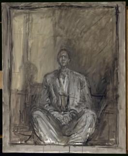 Alberto Giacometti, Portrait de Jean Genet, 1954-1955 Paris, Centre Pompidou MNAM-CCI © Centre Pompidou, MNAM-CCI, Dist. RMN-Grand Palais / Adam Rzepka © Succession Alberto Giacometti (Fondation Alberto et Annette Giacometti, Paris / ADAGP, Paris) 2015
