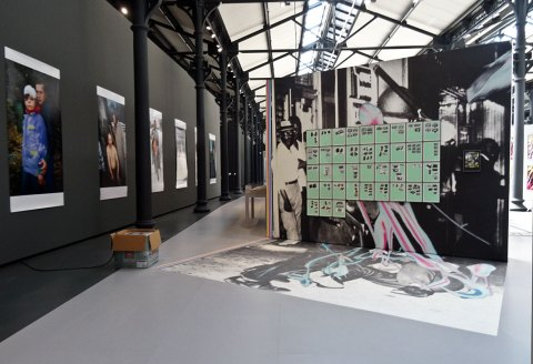 Walead Beshty, Picture Industry - Systematically Open - Fondation LUMA Arles - 2016 - Vue de l'exposition