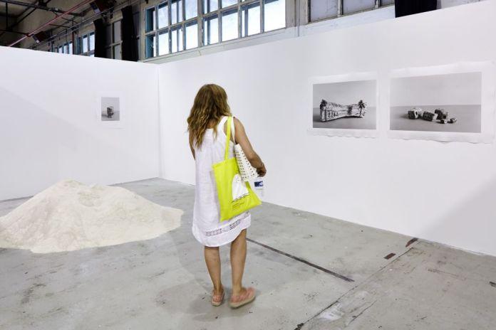 Daniel Marzona Gallery, Berlin, avec Johannes Wald ART-O-RAMA 2016, Marseille ©jcLett