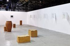 Madragoa Gallery, Lisbon, avec Sara Chang Yan and Renato Leotta ART-O-RAMA 2016, Marseille ©jcLett