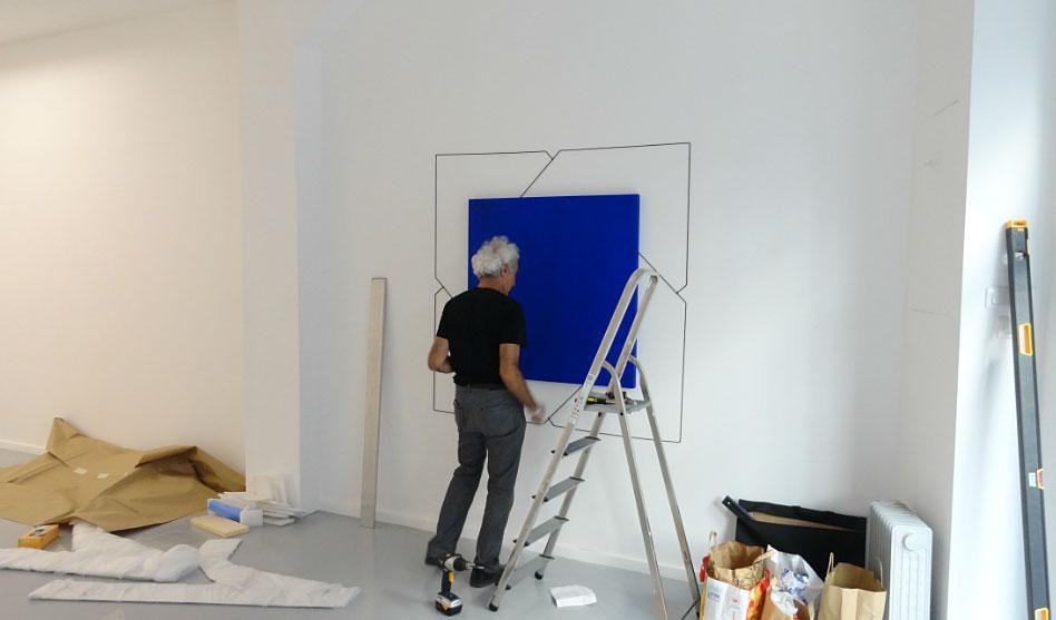 Mehdi Moutashar à la galerie AL/MA, Montpellier