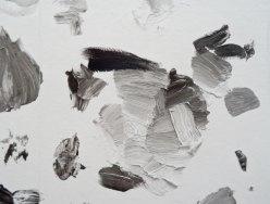 Urs Fischer, Grayscale Mixing Palette #1, 2016 - «Mon cher…» à la Fondation Vincent van Gogh Arles. Impression jet d'encre de papier peint sur papier en nylon renforcé / Inkjet wallpaper prints on nylonreinforced paper Édition illimitée / Unlimited edition