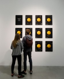 David Haines, Transmission to the sun, 2016. Résonances magnétiques à La Panacée, Montpellier