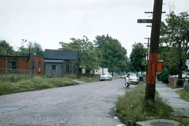 Allan B. Jacobs, Cleveland, Quartier de Garden Valley, Mai 1957 © Allan B. Jacobs