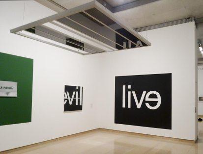 Du Verbe à la Communication – La collection de Josée et Marc Gensollen à Carré d'Art Nîmes - Vue de l'exposition