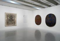 François Rouan, Tressages 1966-2016 au musée Fabre - Vue de l'exposition 02