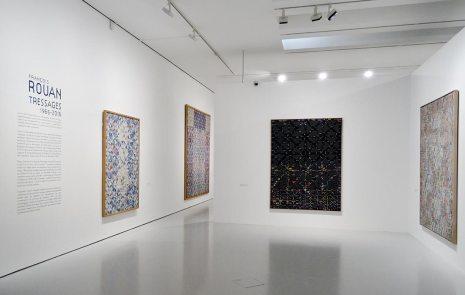 François Rouan, Tressages 1966-2016 au musée Fabre - Vue de l'exposition 10