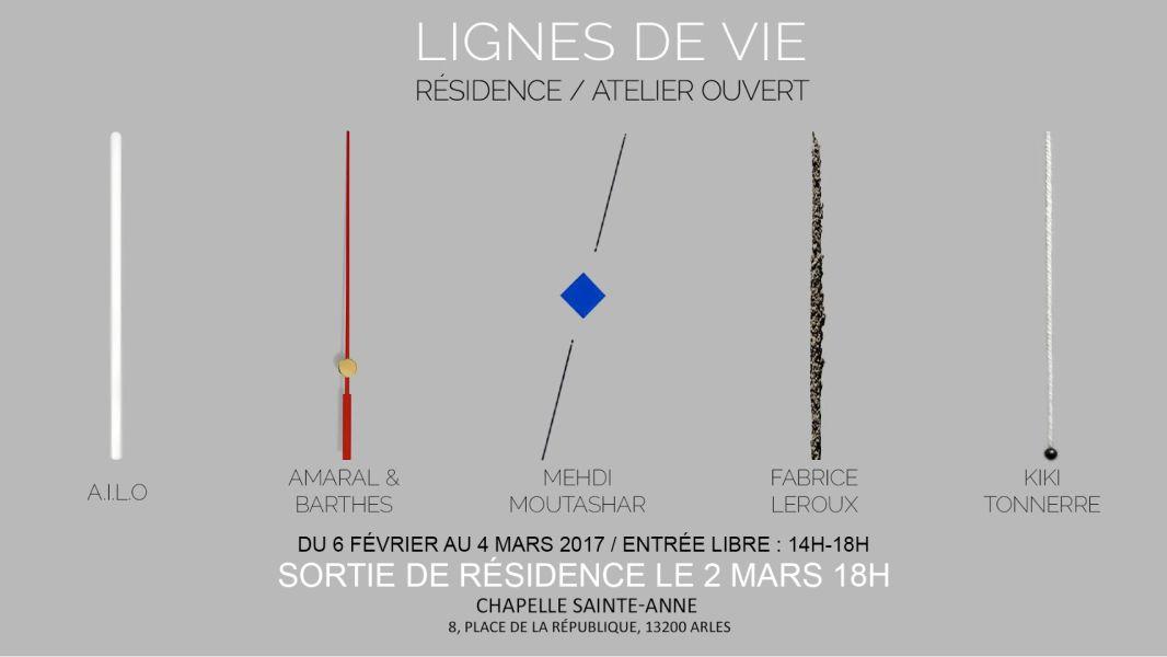 Lignes de vie - Chapelle Sainte-Anne à Arles