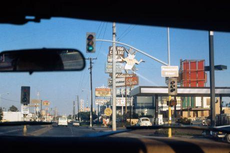 Donald Appleyard, Mission Beach, de Tijuana à San Diego, juin 1974 © Donald Appleyard