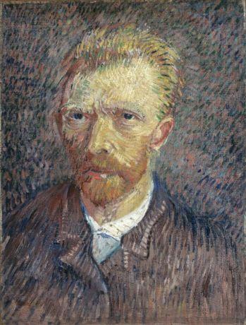 Vincent van Gogh, Autoportrait 1887 Huile sur toile, 47 x 35,4 cm Fondation Collection E. G. Bührle, Zurich