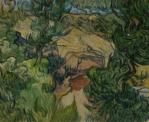 Vincent van Gogh, Entrée dans une carrière Saint-Rémy-de-Provence, mi-juillet 1889 Huile sur toile, 60 x 74,5 cm Van Gogh Museum, Amsterdam (Vincent van Gogh Foundation)