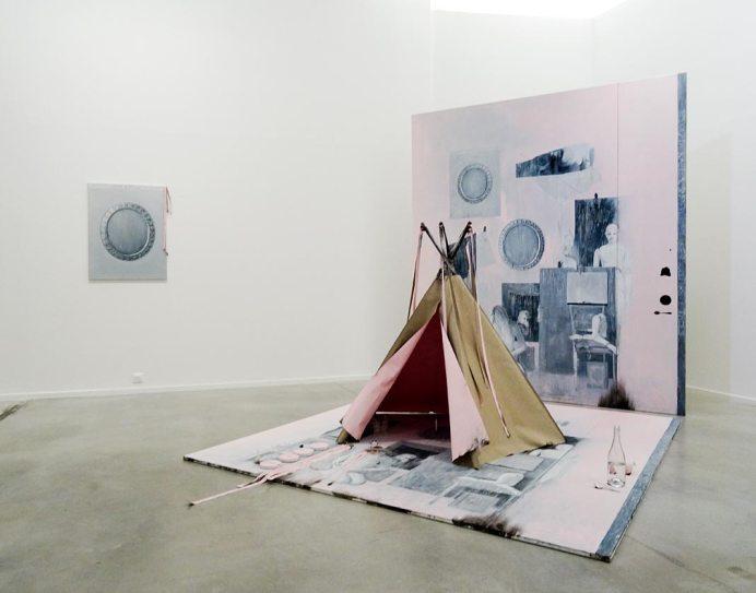 Ylva Ogland, Mirror Spring Snöfrid et Les Contre espaces, 2016. Retour sur Mulholland Drive - La Panacée Montpellier
