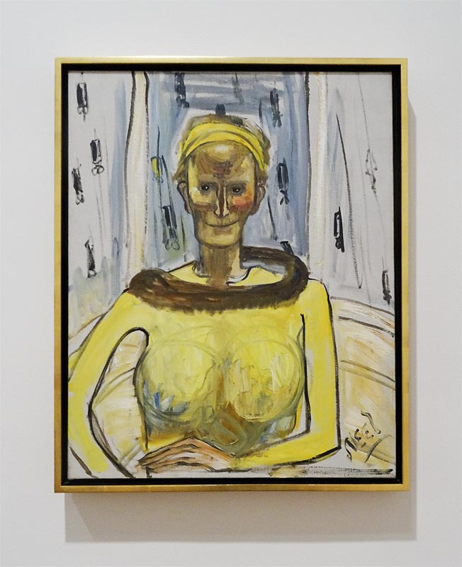 Alice Neel, Ellie Poindexter, 1962