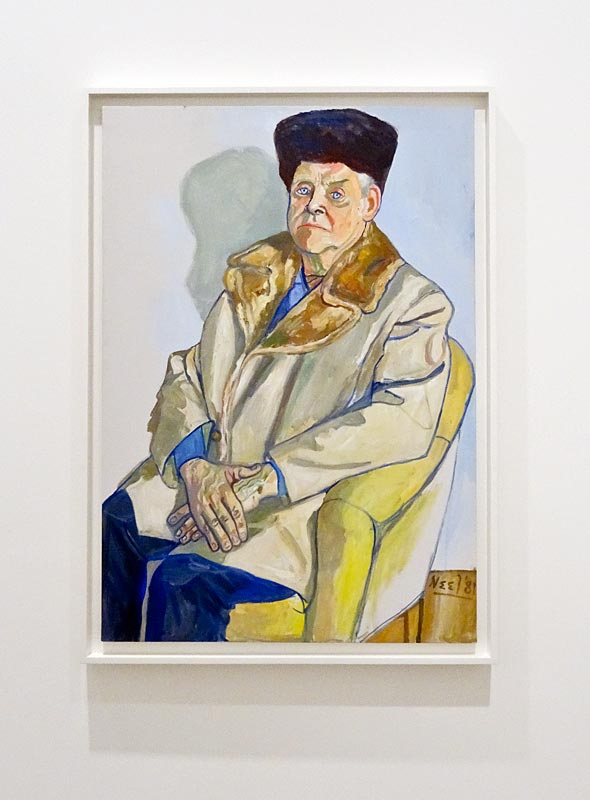 Alice Neel, Gus Hall, 1981