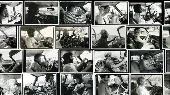 "Annie Leibovitz, photos de la série ""driving"" © Annie Leibovitz"