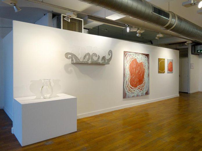 Betty Woodman et Claire Colin-Collin - Les unes avec les autres… à Shirley Jaffe » - Galerie du 5e