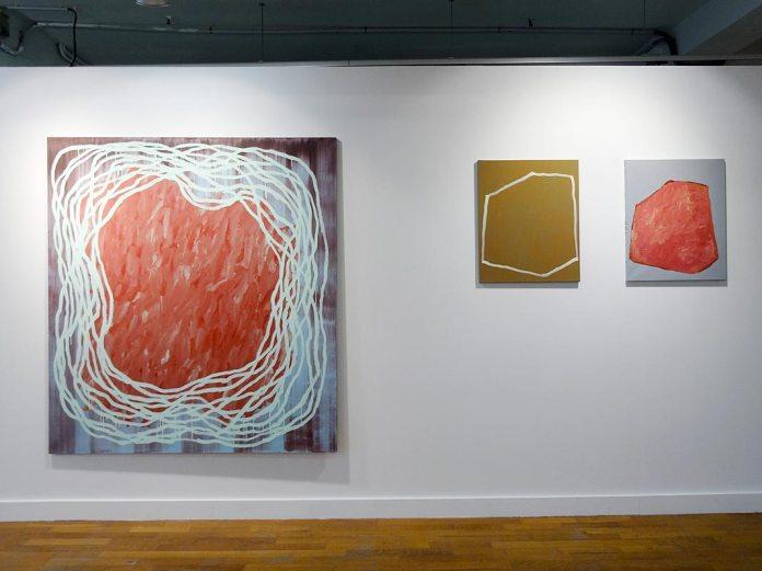 Claire Colin-Collin - Les unes avec les autres… à Shirley Jaffe » - Galerie du 5e
