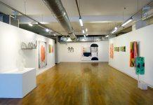 Les unes avec les autres… à Shirley Jaffe » - Galerie du 5e, vue de l'exposition