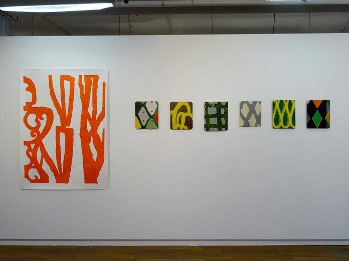 Nathalie Da Silva - Les unes avec les autres… à Shirley Jaffe » - Galerie du 5e