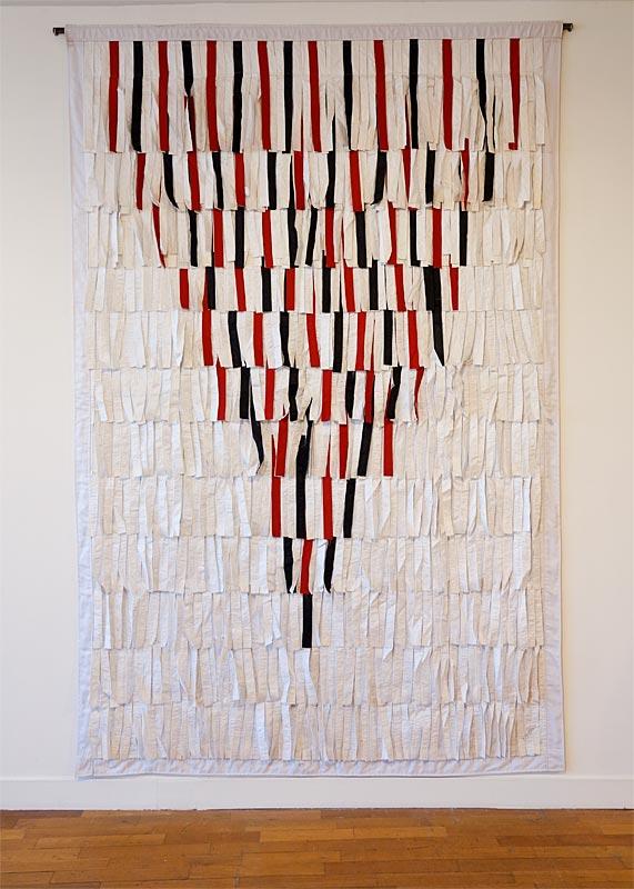 Abdoulaye Konaté, Triange des trois couleurs - Beautiful Africa à la Galerie du 5e – Marseille
