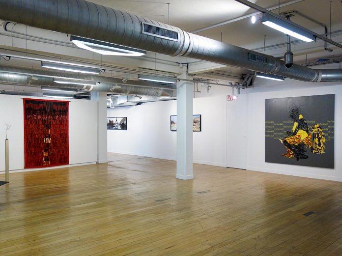 Beautiful Africa à la Galerie du 5e – Marseille. Vue de l'exposition