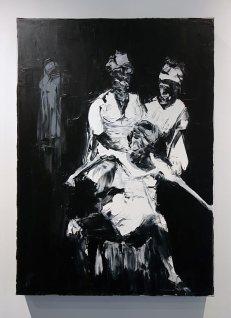 Patrice Palacio, Hogou ferraille, 2016 - Voodoo Rituals - Galerie Samira Cambie, Montpellier