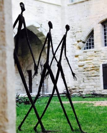 N'dary Lo, les Marcheurs. Crédit photo Fondation Blachère (page Facebook)