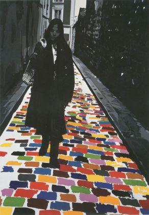Gérard Fromanger Florence rue d'Orchampt (de la série Splendeur), 1975 Huile sur toile, 130 x 97 cm © Gérard Fromanger Courtesy Galerie Jeanne Bucher Jaeger, Paris Photo : J.-L. Losi