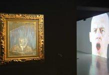 Portrait - Reflexion, Francis Bacon / Bruce Nauman - Face à face au Musée Fabre, Montpellier