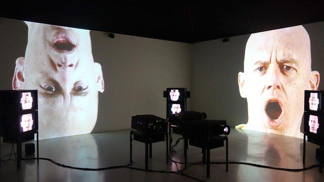 Portrait - Reflexion, Francis Bacon - Bruce Nauman - Face à face au Musée Fabre, Montpellier